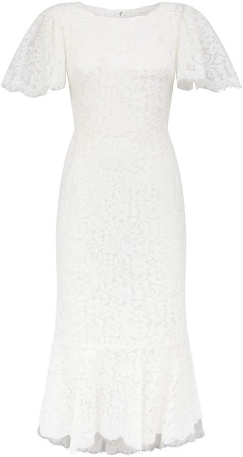 Dolce & Gabbana Lace Fishtail Dress