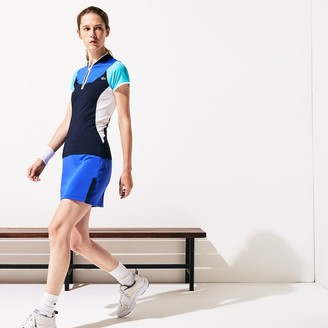Lacoste Women's SPORT Breathable Stretch Tennis Polo