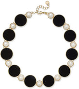 Charter Club Gold-Tone Imitation Pearl Jet Necklace, Only at Macy's