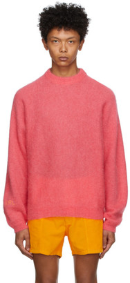 ERL Pink Alpaca and Mohair Sweater