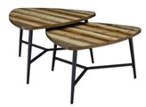 Thumbnail for your product : Picket House Furnishings Gibson Nesting Coffee Table Set