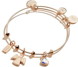 Alex and Ani Tree Topper Angel Adjustable Wire Bangle