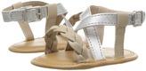 Baby Deer Crisscross Sandal with Braid Girls Shoes