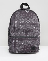 Asos Backpack In Bandana Print