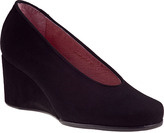 Andre Assous Gayla Wedge Pump Black Suede