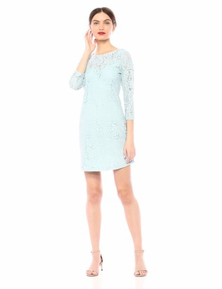 Jack by BB Dakota Womens Cool as ice lace Body con Dress