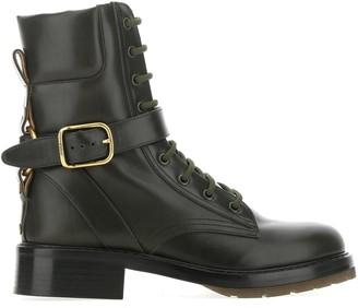 Chloé Diane Lace-Up Ankle Boots