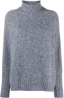 Odeeh Chunky Knit Roll-Neck Jumper