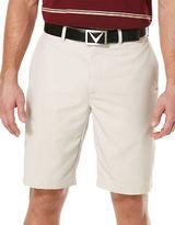 Callaway Chevron Flat-Front Shorts