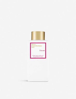 Francis Kurkdjian A la rose scented shower cream 250ml