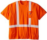 Carhartt Men's Big & Tall High Visibility Force Short Sleeve Class 2 Tee