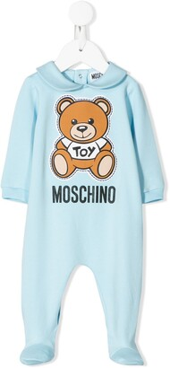MOSCHINO BAMBINO Teddy Bear motif pajama