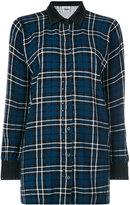 Twin-Set classic plaid shirt - women - Cotton/Polyamide/Viscose - XS