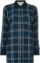Twin-Set classic plaid shirt
