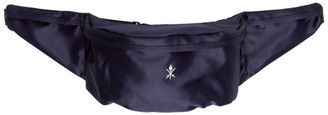 Opening Ceremony Navy Satin Classic Fanny Pack
