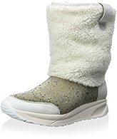Australia Luxe Collective Women's Zhinu Snow Boot with Crystal and Shearling Detail