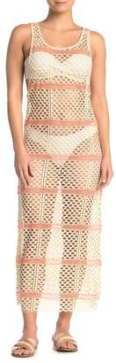 Pilyq Natalie Fishnet Cover-Up Dress