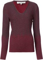 Carolina Herrera v-neck jumper - women - Virgin Wool - XS