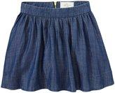 Kate Spade Coreen Skirt (Toddler/Kid) - Chambray-6