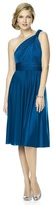 Dessy Collection - MJ-TWIST2 Dress in Cerulean