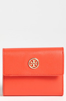 Tory Burch 'Robinson' Saffiano Leather French Wallet