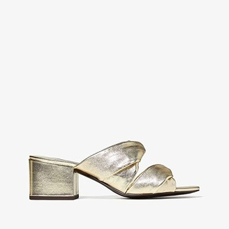 3.1 Phillip Lim Cube Twist Sandal (Gold) Women's Shoes