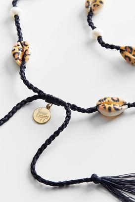 Venessa Arizaga Moonlight Beach Leopard Shell Necklace