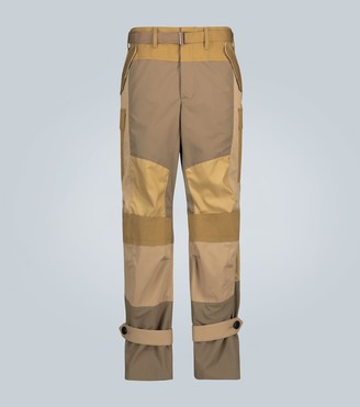 Sacai Parachute pants with straps