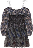 Ulla Johnson Jira cotton and silk minidress