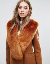 Missguided Faux Fur Stole