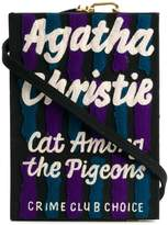 Olympia Le-Tan Cat Among The Pigeons Strapped Book clutch