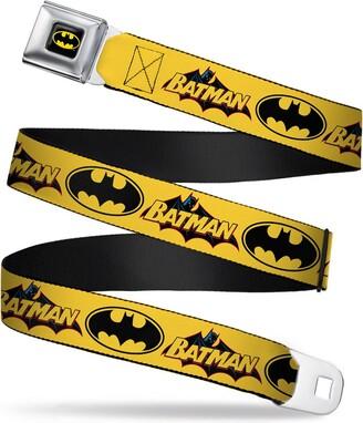 Buckle Down Buckle-Down Men's Seatbelt Belt Batman Kids