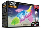 Laser Pegs Junior 3 in 1 Jets Lighted Construction Toy