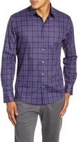 Zachary Prell Rief Regular Fit Plaid Button-Up Shirt