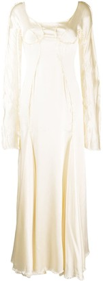 Marni Raw Trim Dress
