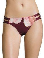 Carmen Marc Valvo Gilded Garden Bikini Bottom