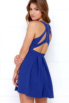 LuLu*s Test Drive Cobalt Blue Dress
