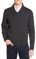 Nordstrom Men's Big & Tall Shawl Collar Sweater