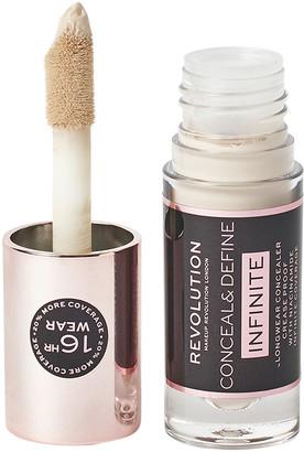 Makeup Revolution Conceal & Define Infinite Longwear Concealer C1