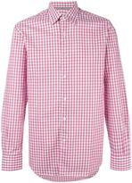 Canali checked shirt - men - Cotton/Linen/Flax - M
