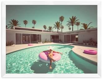 Pool' Pool Side Wall Art, Large