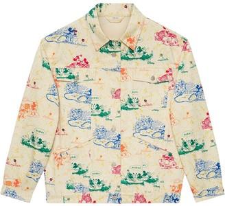 Gucci x Disney Mickey and Minnie jacket