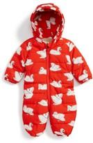 Stella McCartney Infant Girl's Puddle Swan Hooded Snowsuit