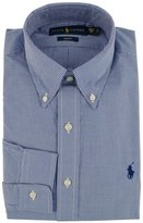 Polo Ralph Lauren Men's Slim Fit Checked Button Down Dress Shirt-RW