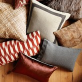 Williams-Sonoma Cashmere Lumbar Pillow Cover with Buttons