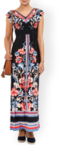 Monsoon Maaya Print Shorter Length Maxi Dress