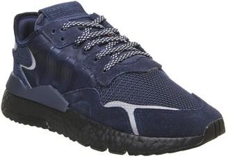 adidas Nite Jogger Boost Trainers Collegiate Navy Core Black