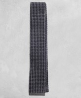 Brooks Brothers Golden Fleece Square-End Houndstooth Tie