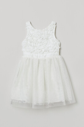 H&M Glittery tulle dress