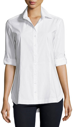 Finley Joey Tailored Long-Sleeve Blouse